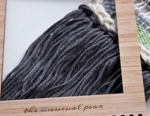 This loom from The Unusual Pear is great for beginners! | The Weaving Loom