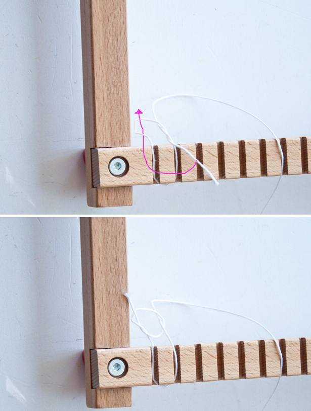 How to tie a slip knot (video)| The Weaving Loom
