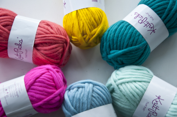 Colorful Twisted Wool Roving | The Weaving Loom