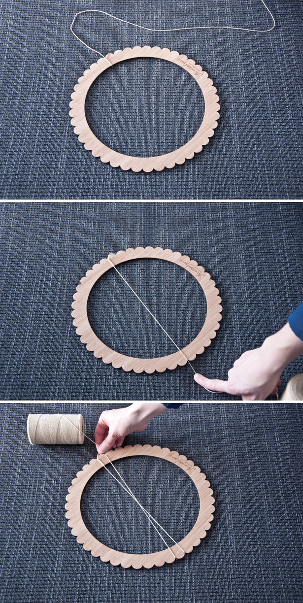 Warp a Circle Loom| The Weaving Loom
