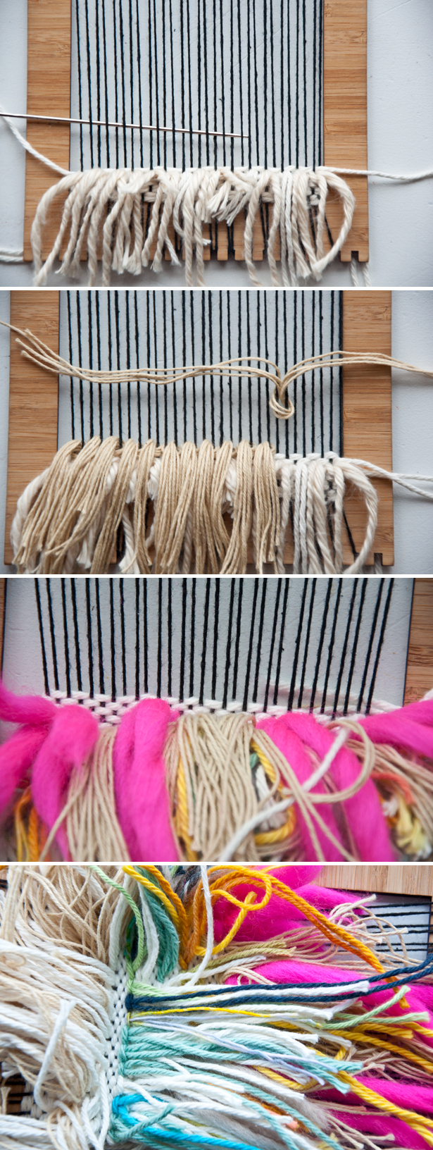 Shag Weave Stash Buster | The Weaving Loom