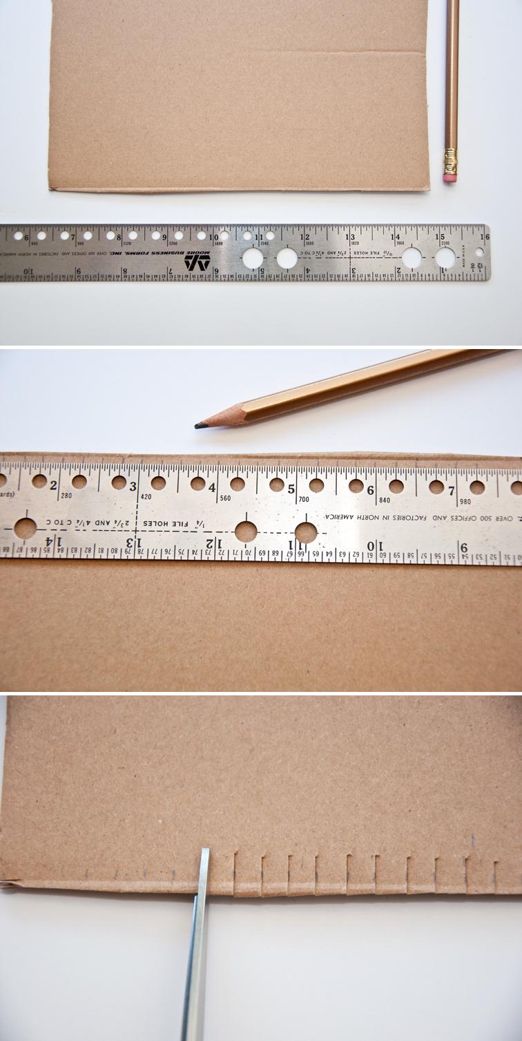 How to Make a Cardboard Loom | The Weaving Loom