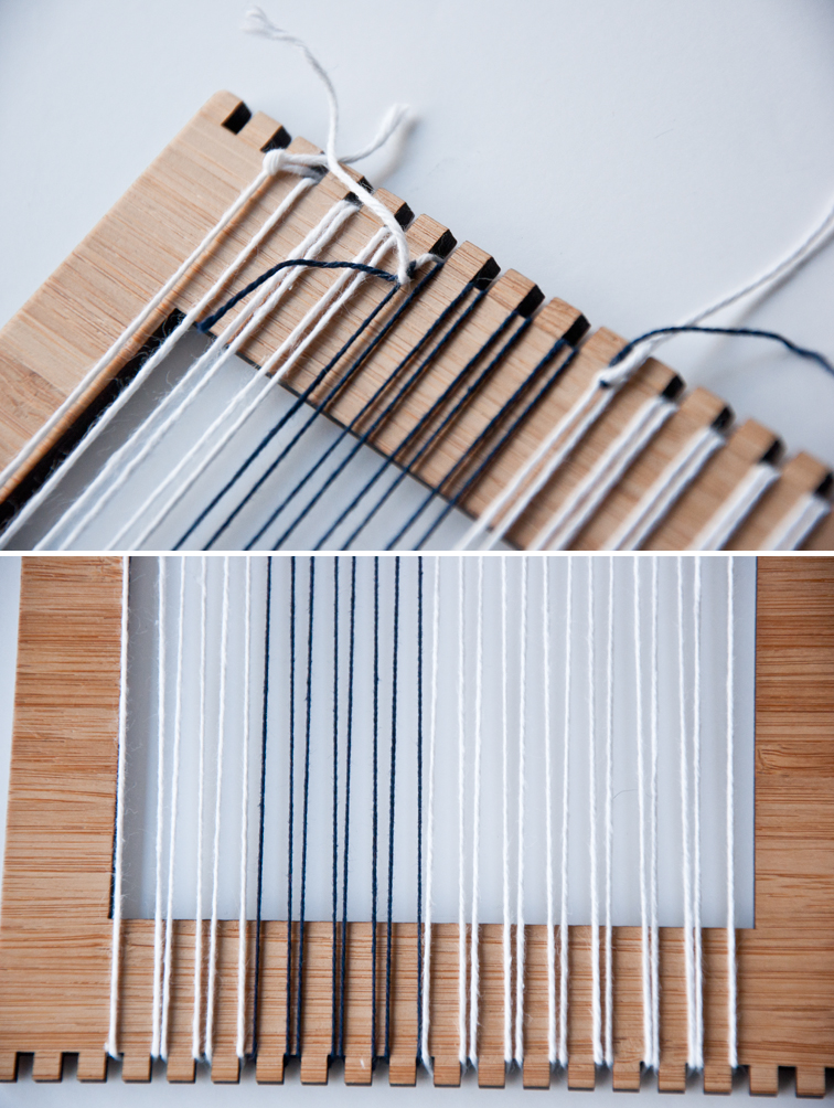 How to change warp thread colors on your loom