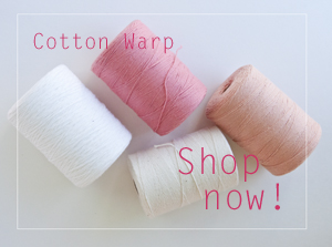 Cotton Warp Thread for Weaving