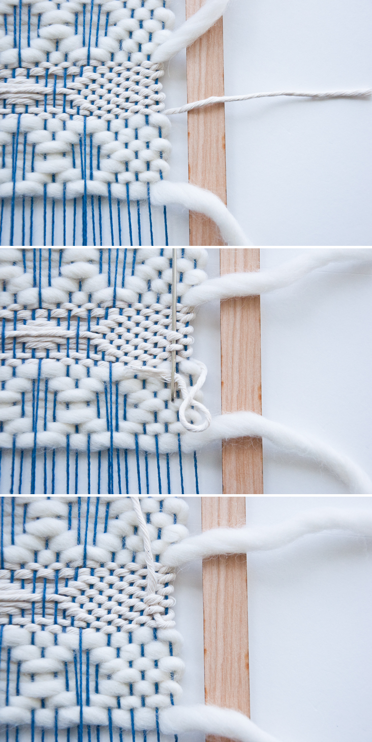 Weaving Techniques || The Perfect Way to Tuck End Threads