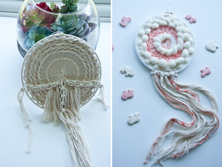 Fun fringe & other weaving details