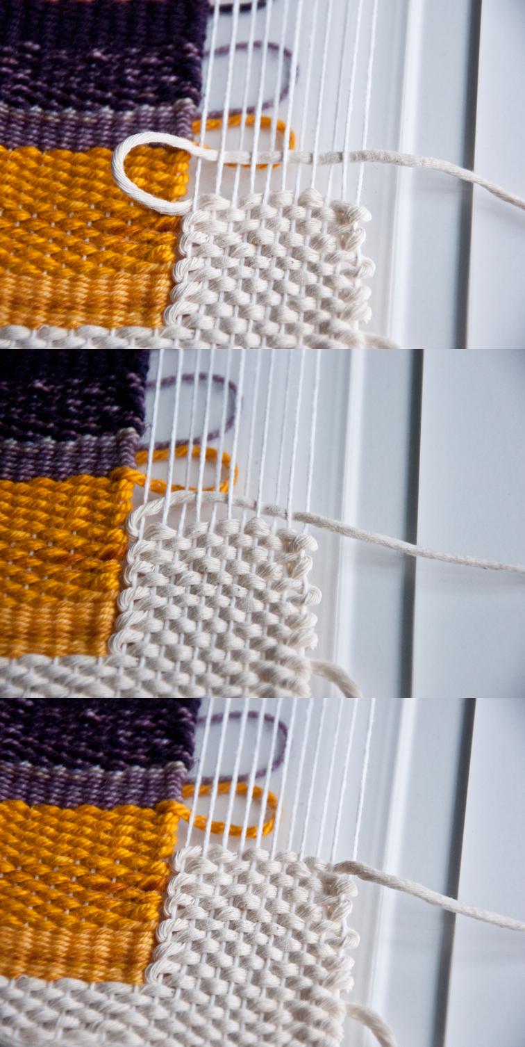 Free Beginner's Ombre Stripe Weave Pattern