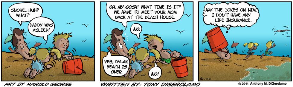 I Hate My Kids:  Beach Time
