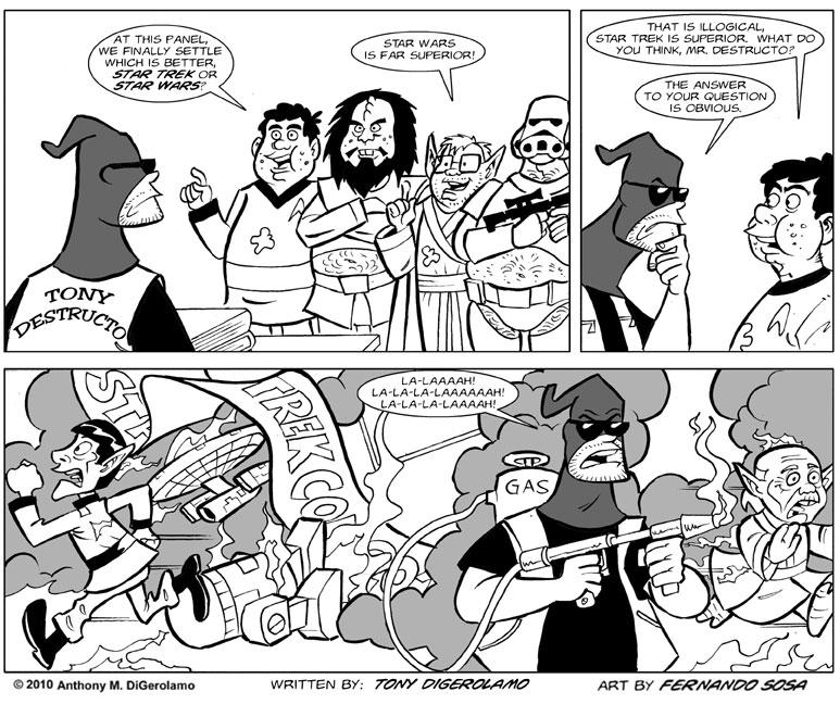 Tony Destructo #4: The Tony Destructo Panel