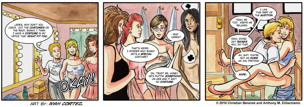 Gentlemen's Club #6: Bunny Works the Room