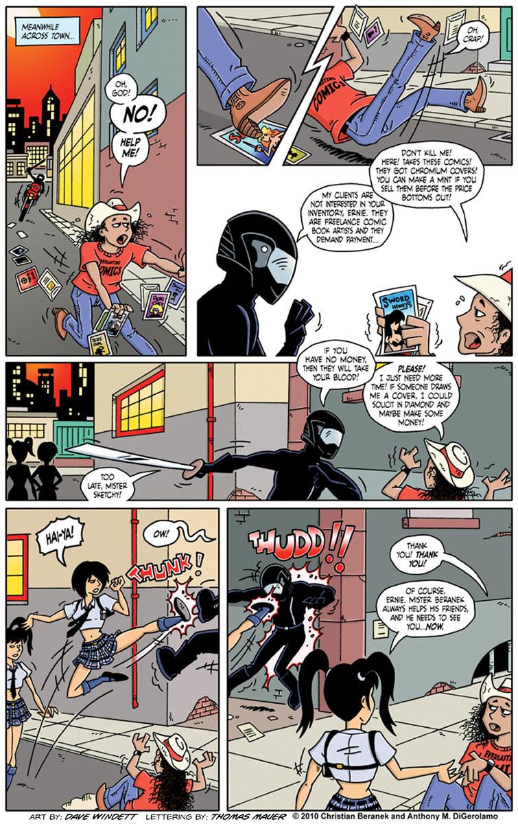 Comic Book Mafia #9: Comics Get Sketchy