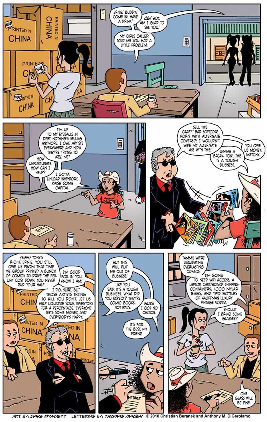 Comic Book Mafia #10: Ernie Gets a Sitdown