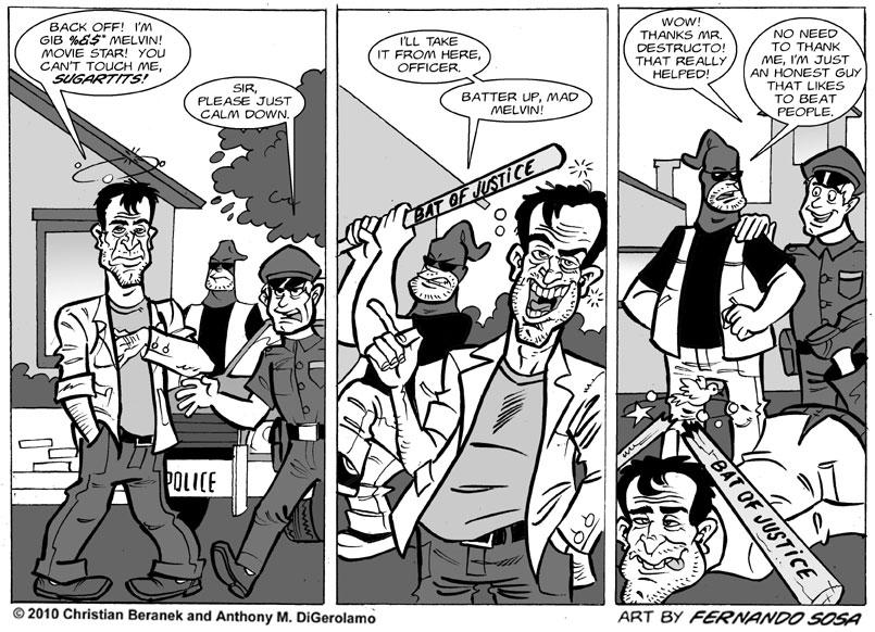 Tony Destructo #18: Mad Melvin