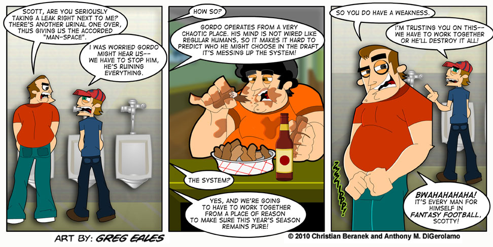 Sports Guys #21: The Urinal Dialogues