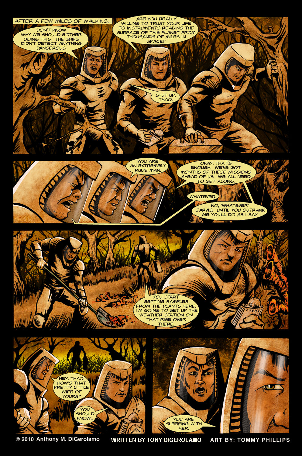 The Horror of Colony 6 Page 2