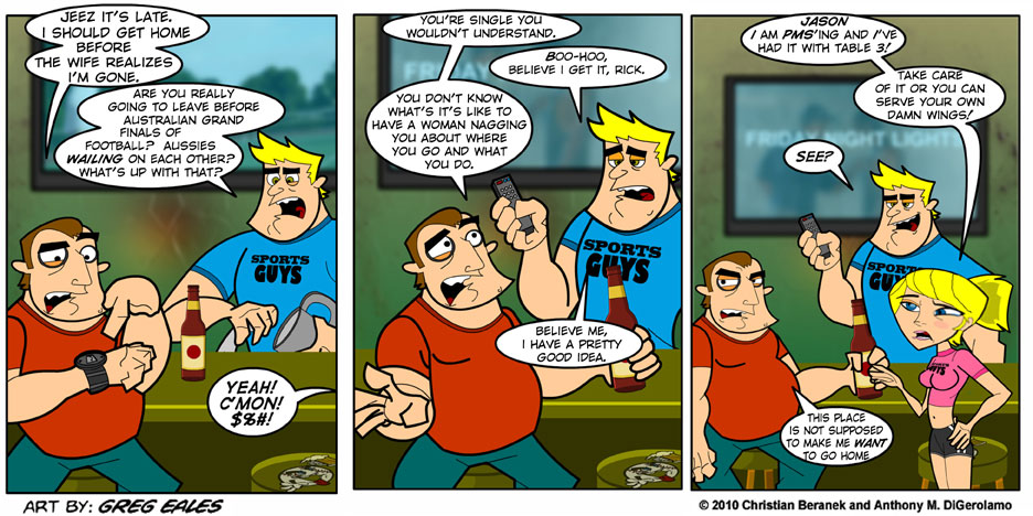 Sports Guys #26: Wives and Waitresses
