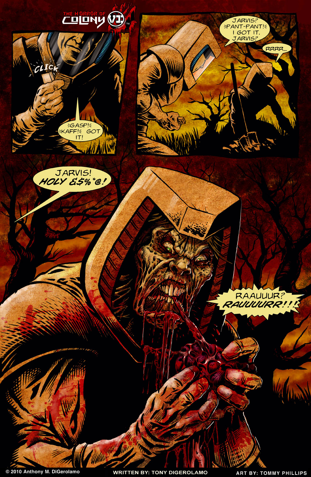 The Horror of Colony 6, Page 6
