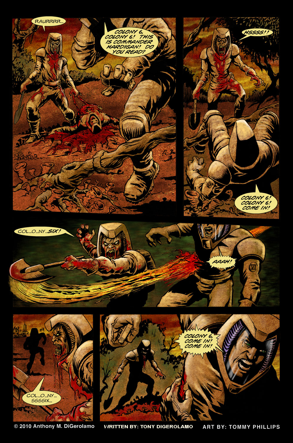 The Horror of Colony 6, Page 7