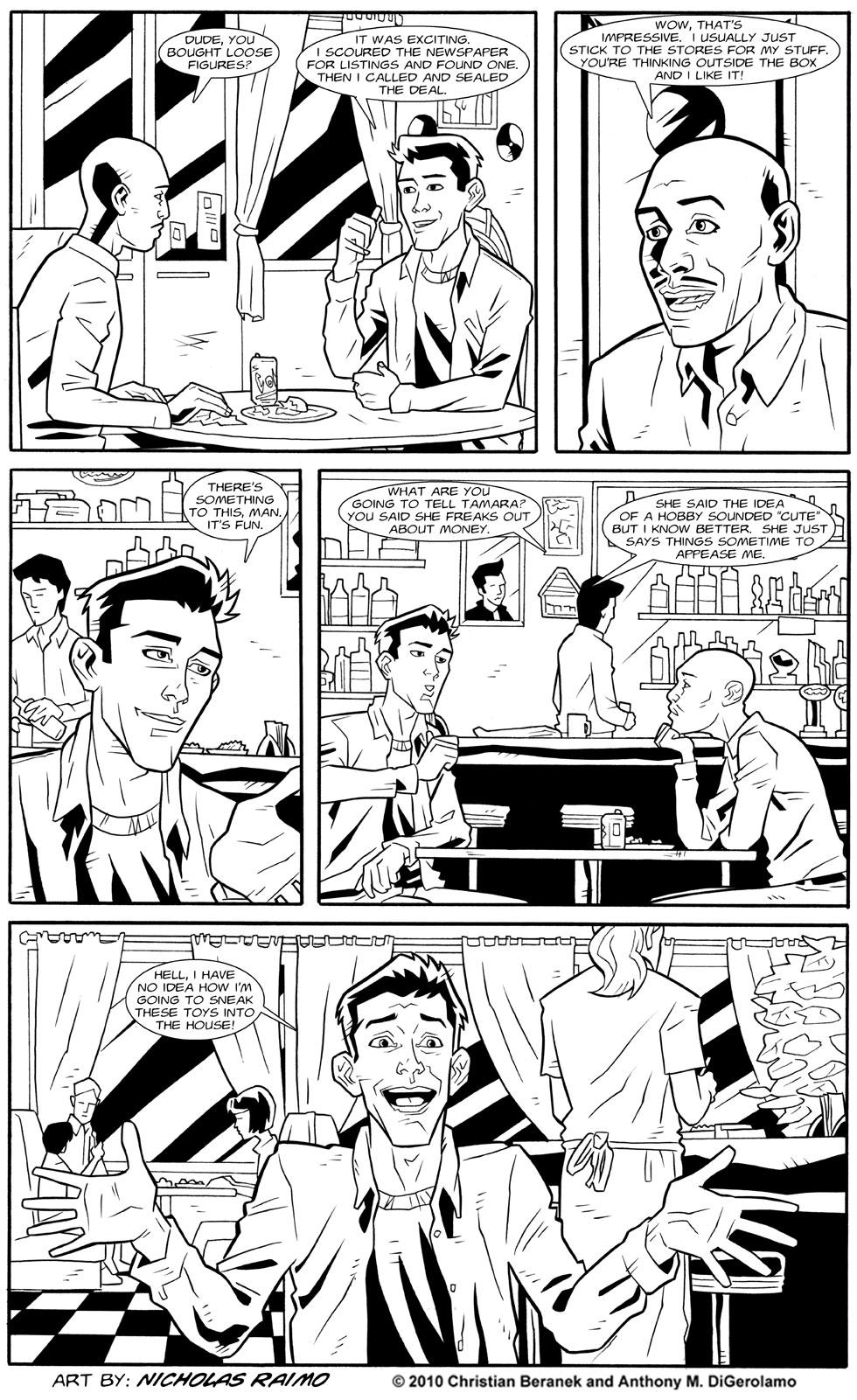 Dealers: Diner Strategizing