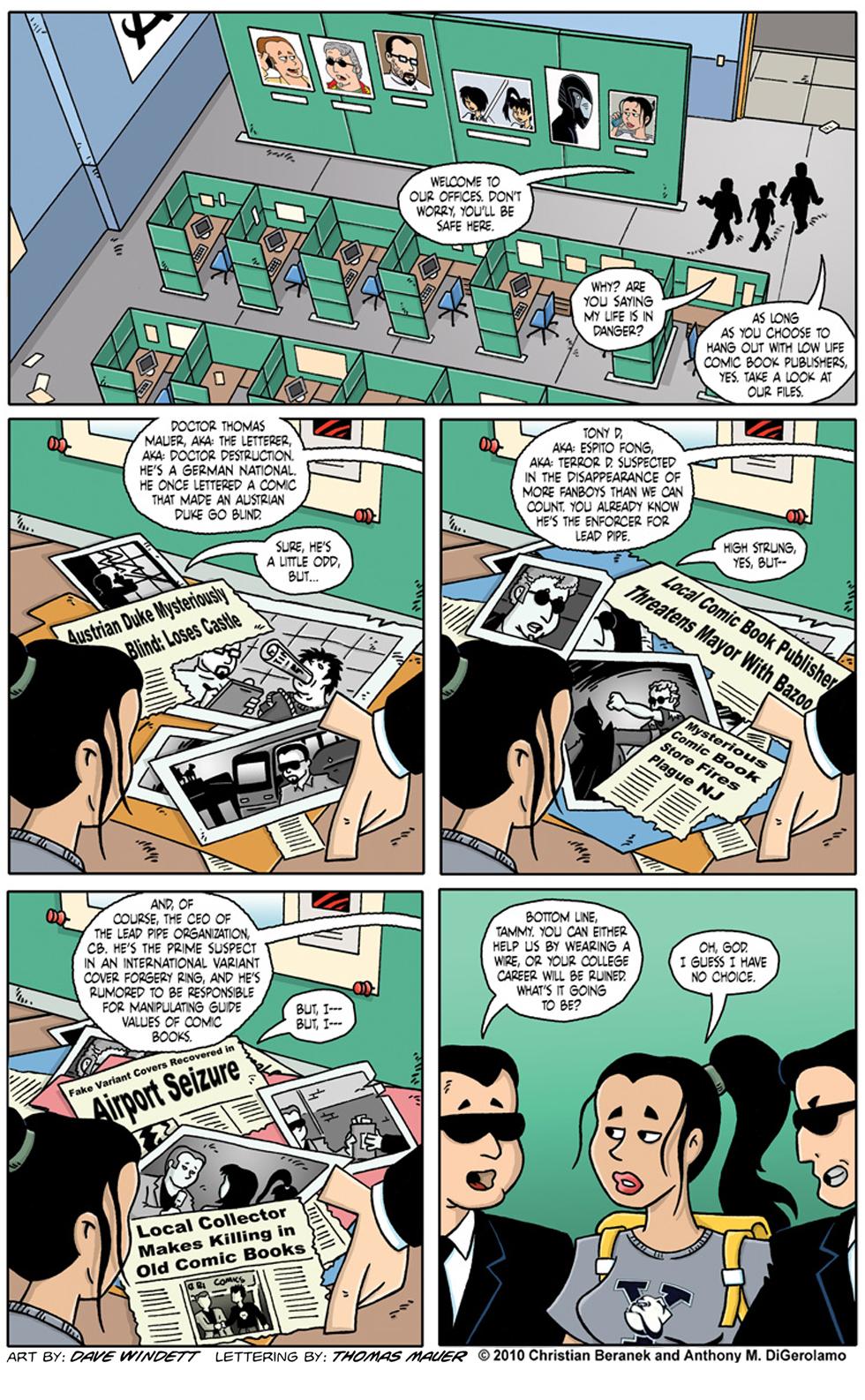 Comic Book Mafia: The Lead Pipe Organization