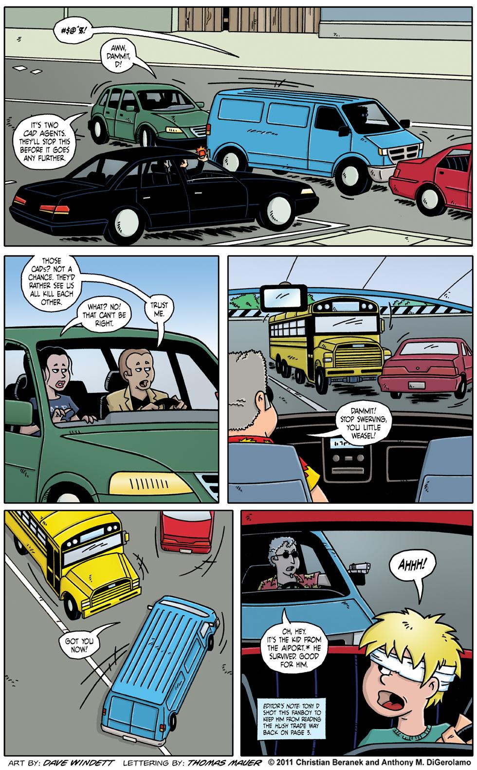 Comic Book Mafia: The Kid's Alive