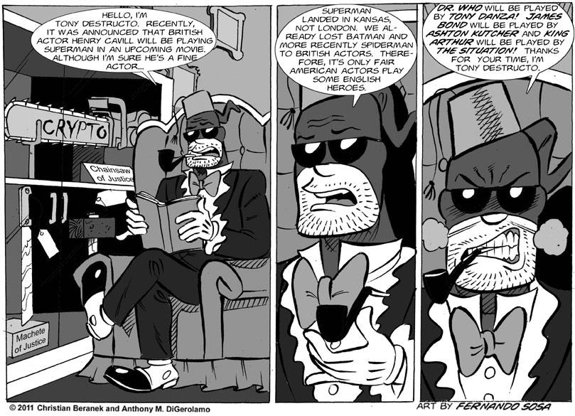 Tony Destructo #39:  It's Only Fair