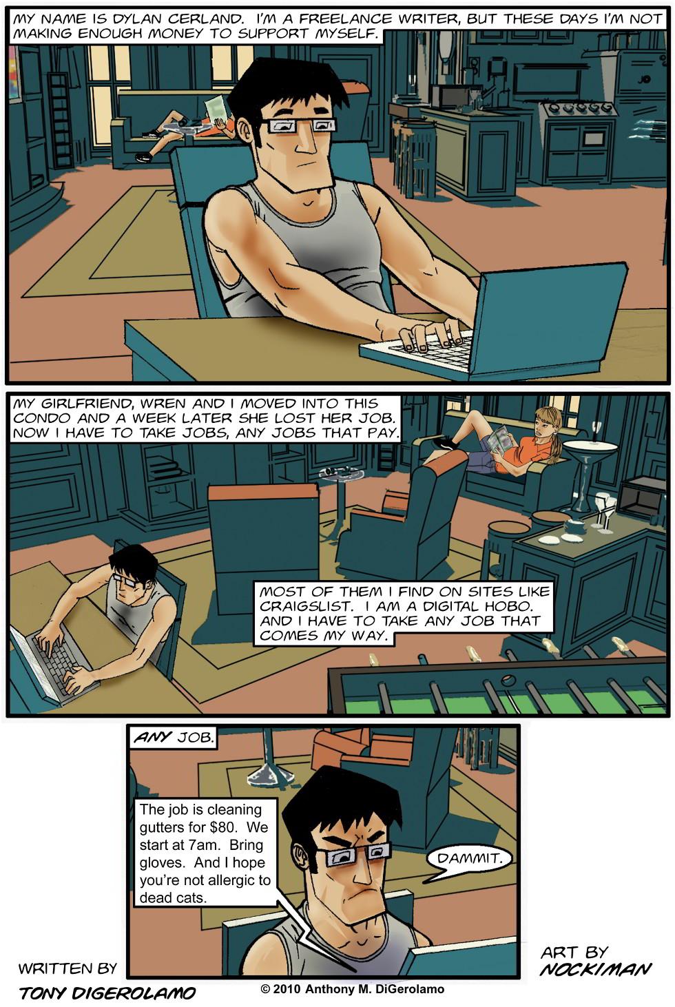 digital hobo #1: It's a Living…Kinda