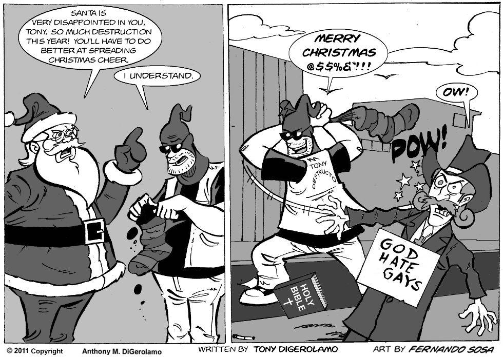 Tony Destructo:  Season's Destructo