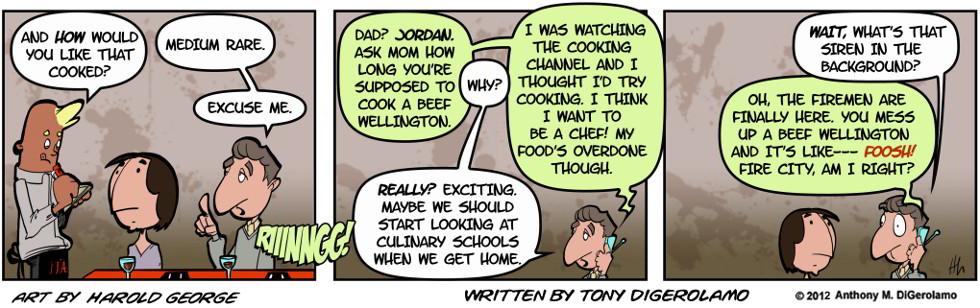 I Hate My Kids:  Beef Not-So-Wellington