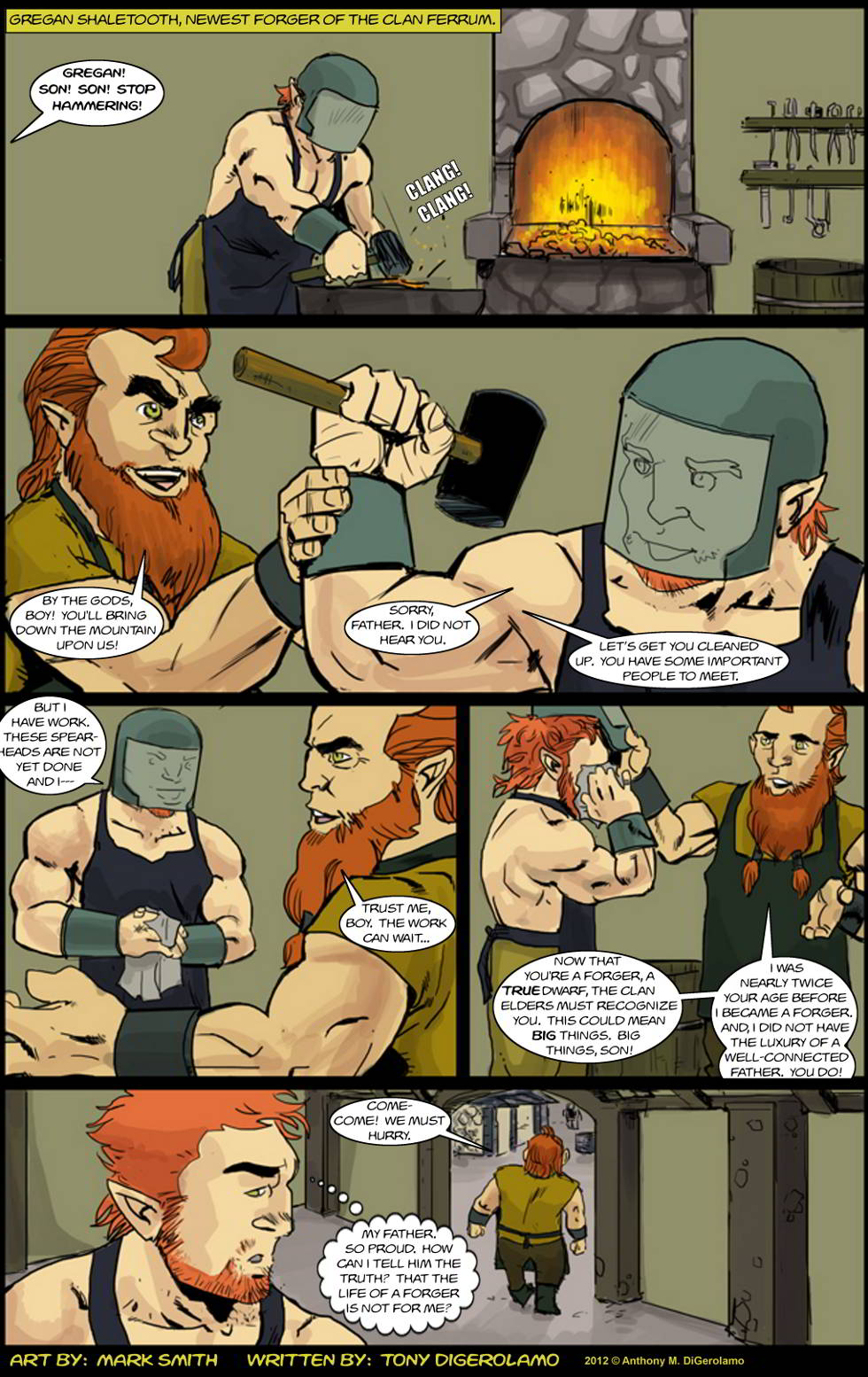 Kingdom of the Dwarves:  Son of a Forger