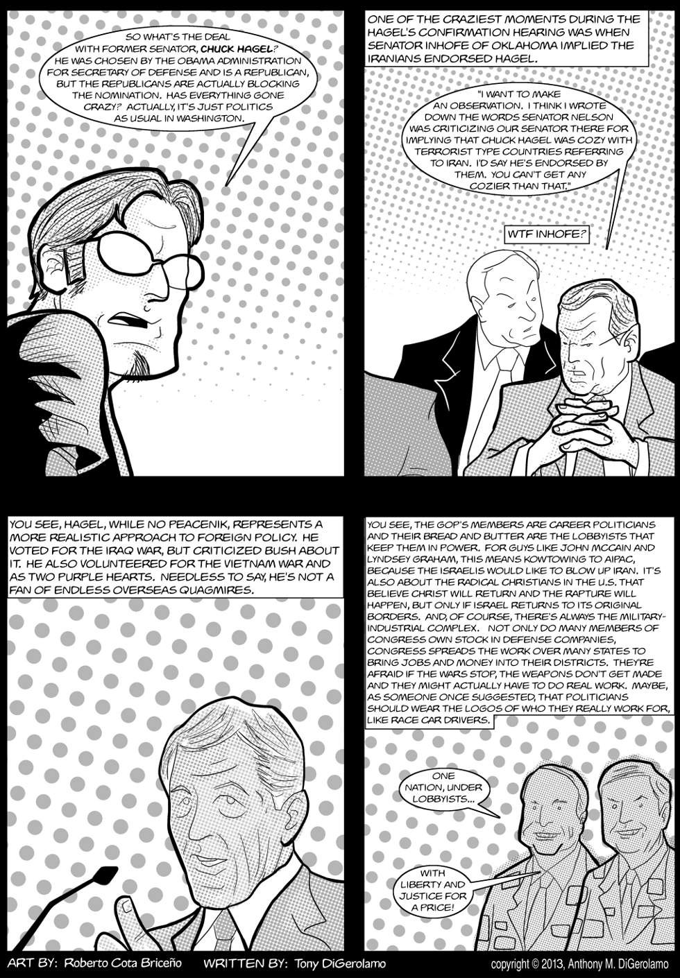 The Antiwar Comic: The Hagel Kerfuffle