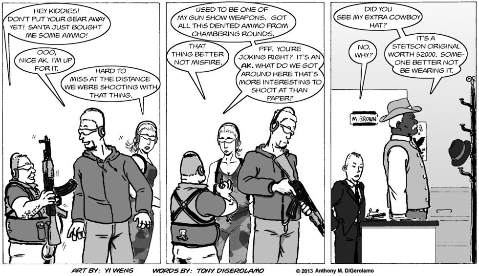 Gun Culture: A New Target