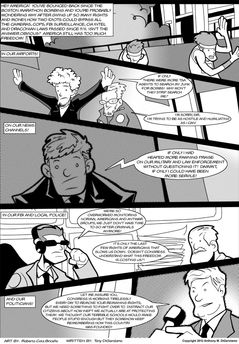 The Antiwar Comic:  You Can't Trade For Liberty