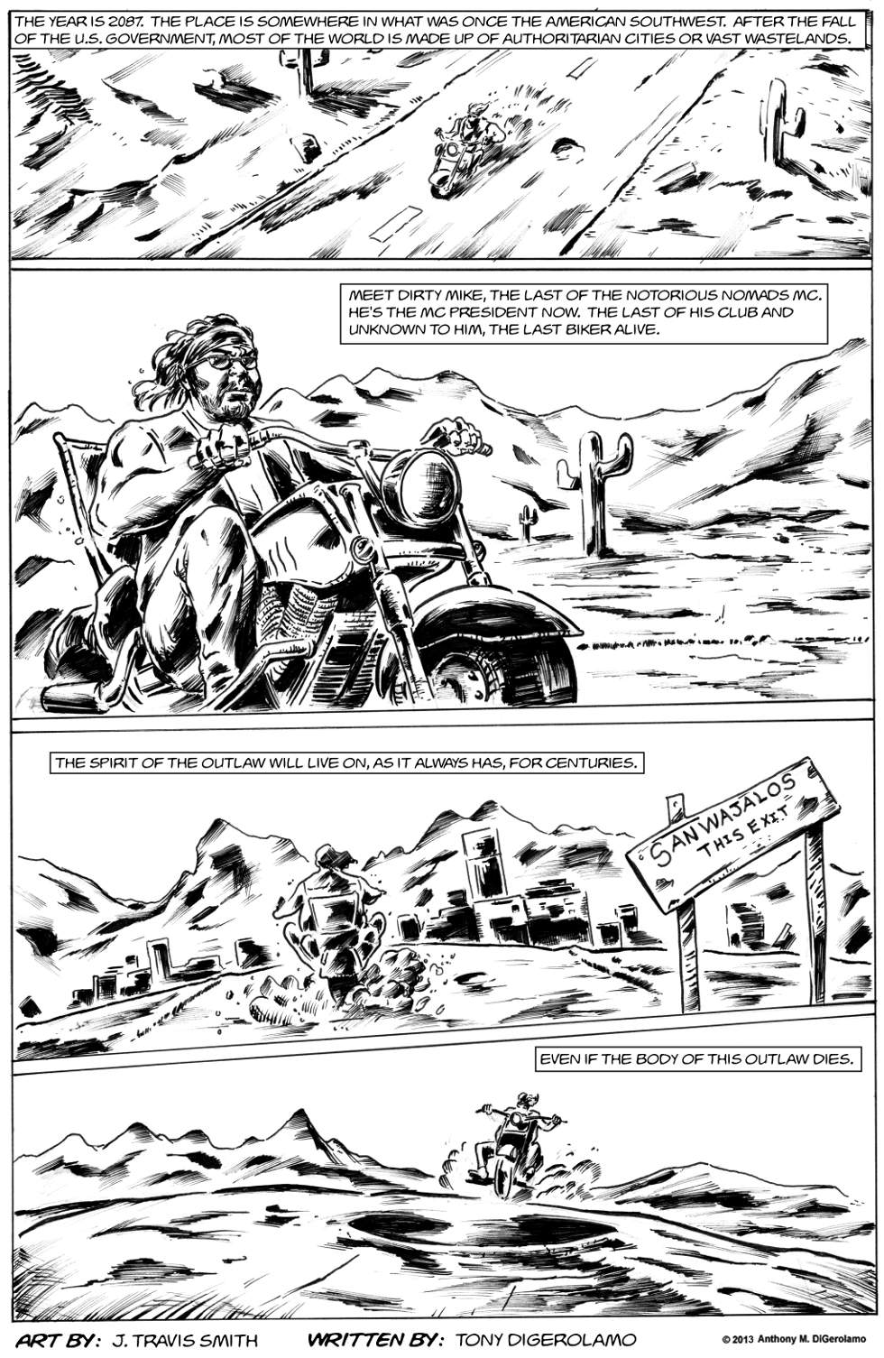 Weird Biker Tales: The Last Outlaw