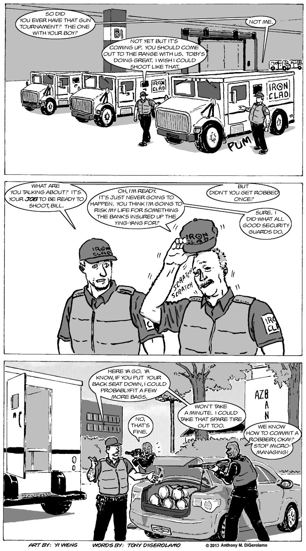 Gun Culture:  A Good Security Guard
