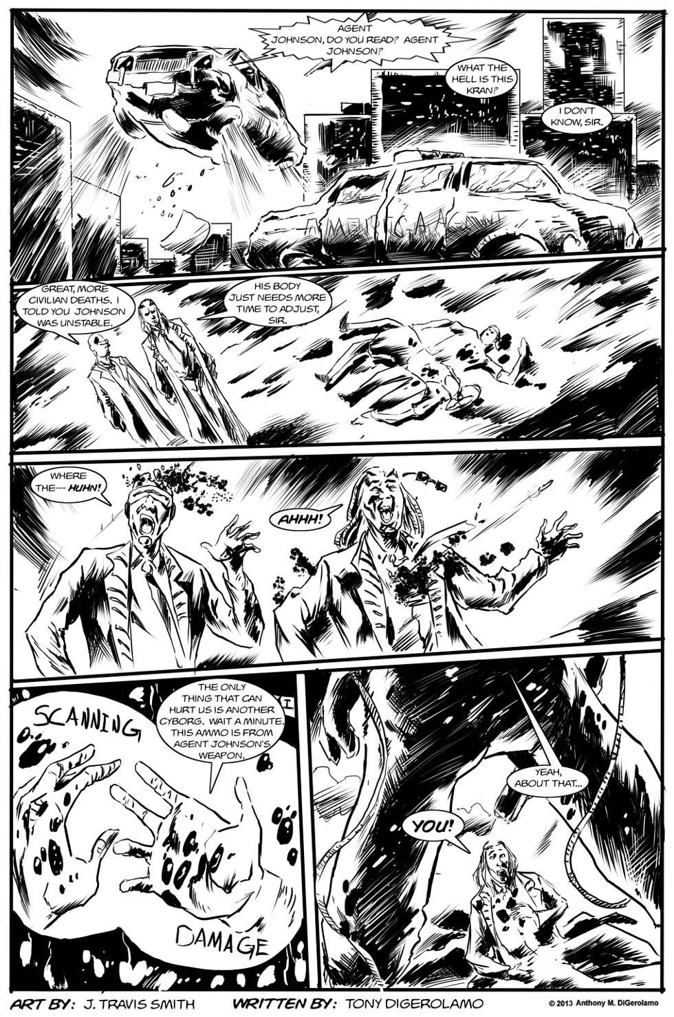 Weird Biker Tales:  Agent Down