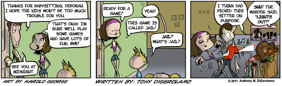 I Hate My Kids:  Babysitter
