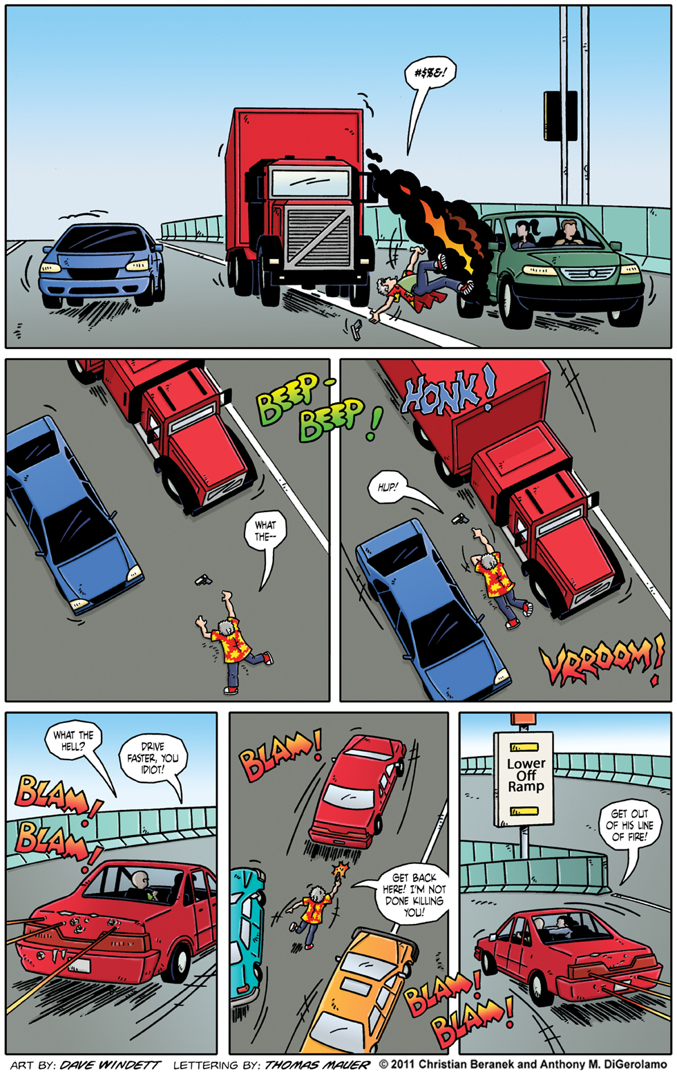 Comic Book Mafia #48:  Beating the Traffic