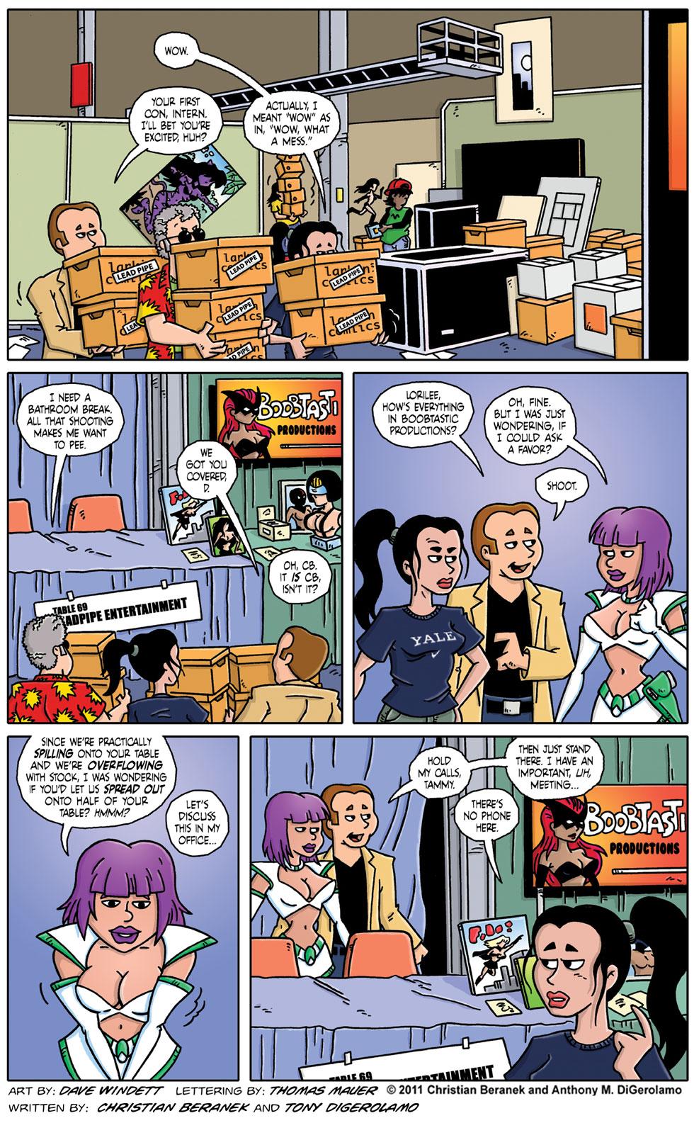 Comic Book Mafia #52:  Unpacking the Con