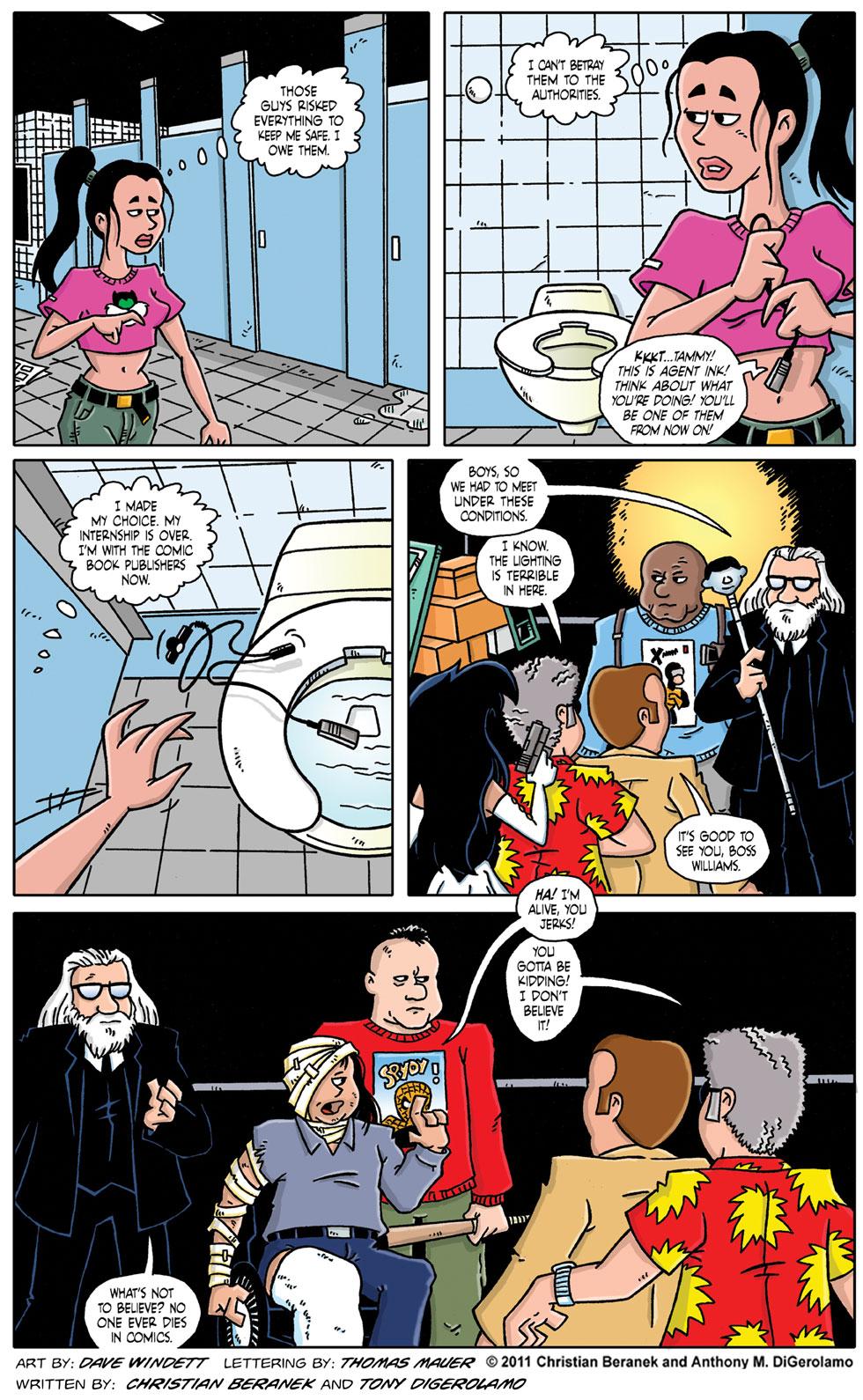 Comic Book Mafia #62:  The Boss