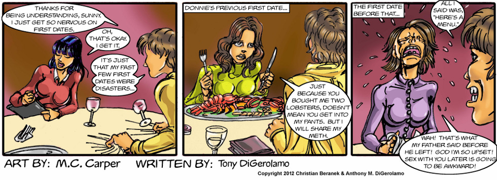 In A Relationship:  Dates Gone Awry