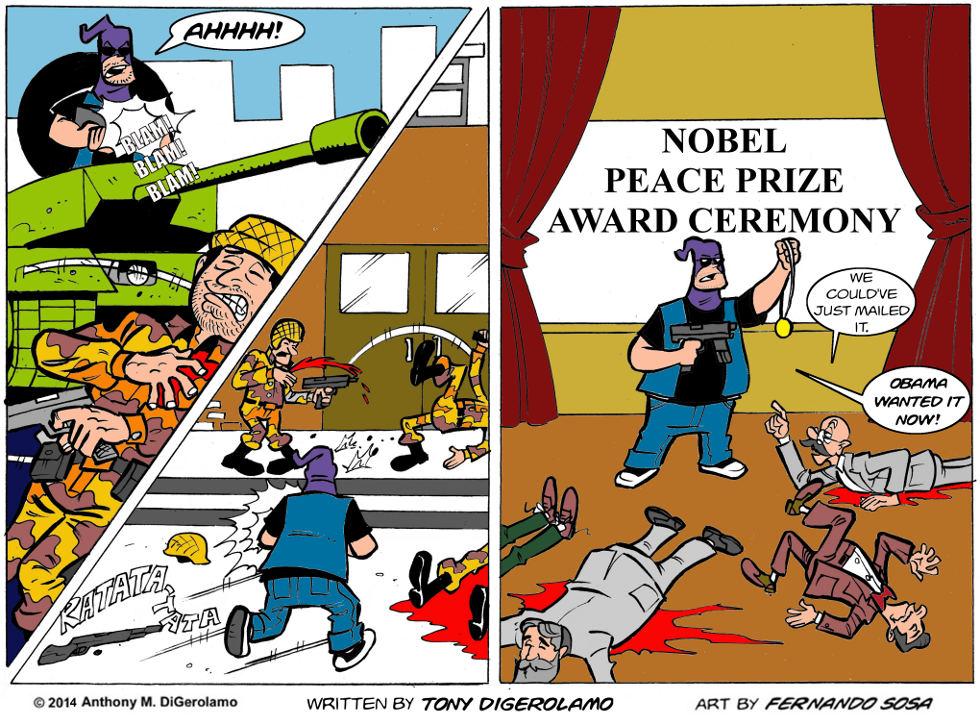 Tony Destructo:  Prize Winner
