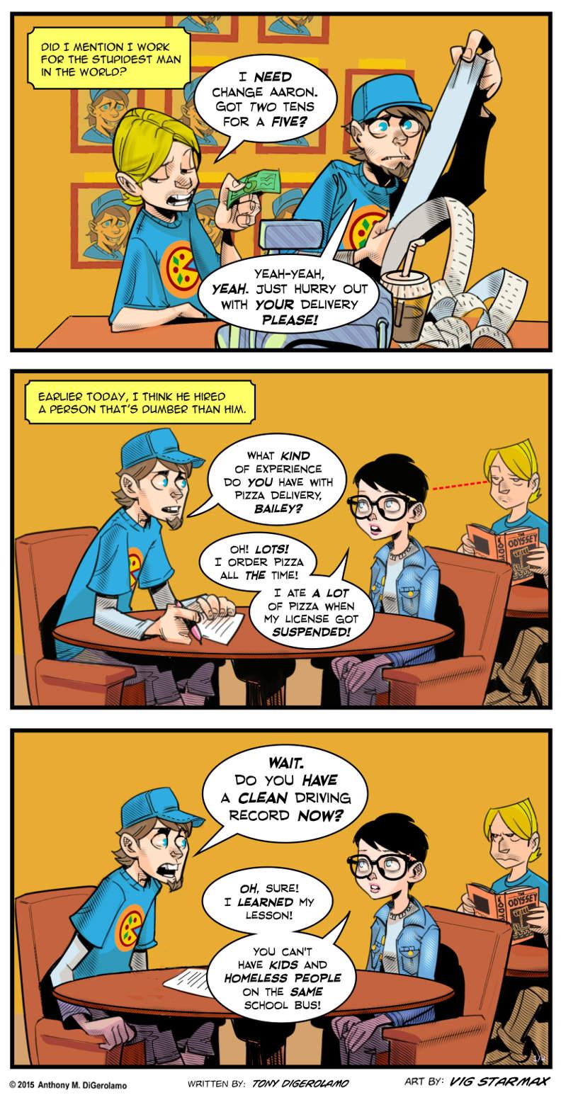 Tales of Pizza:  When Dumb Hires Dumb