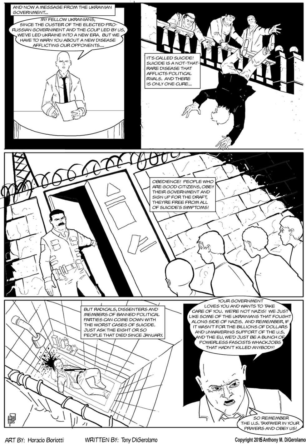 The Antiwar Comic:  Your Ukrainian Government at Work