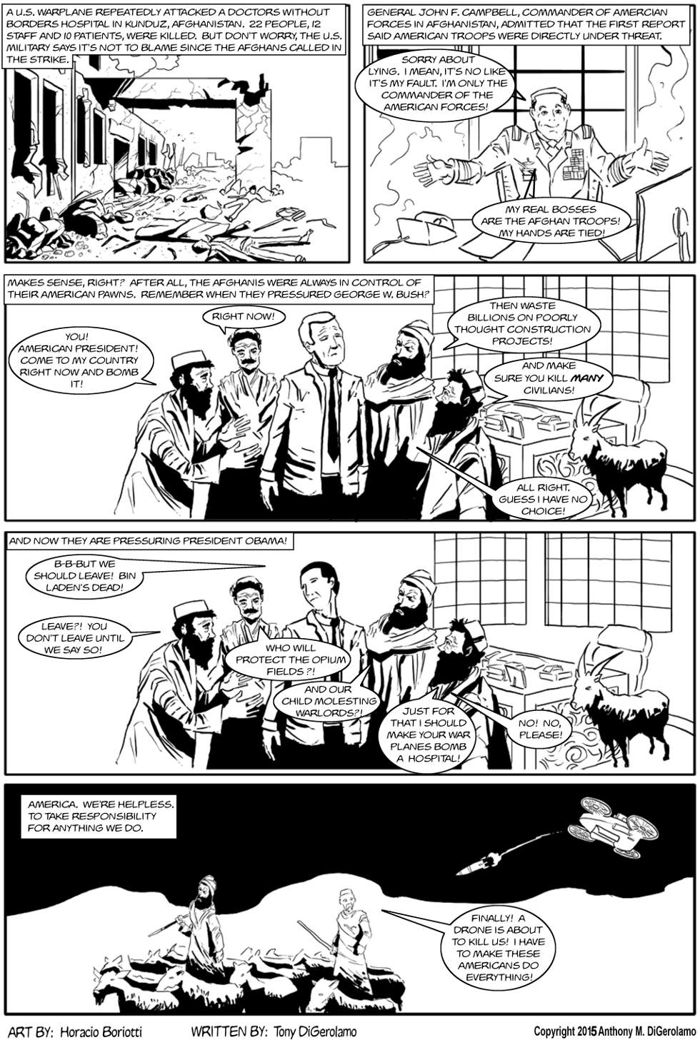 The Antiwar Comic:  The Real Bosses