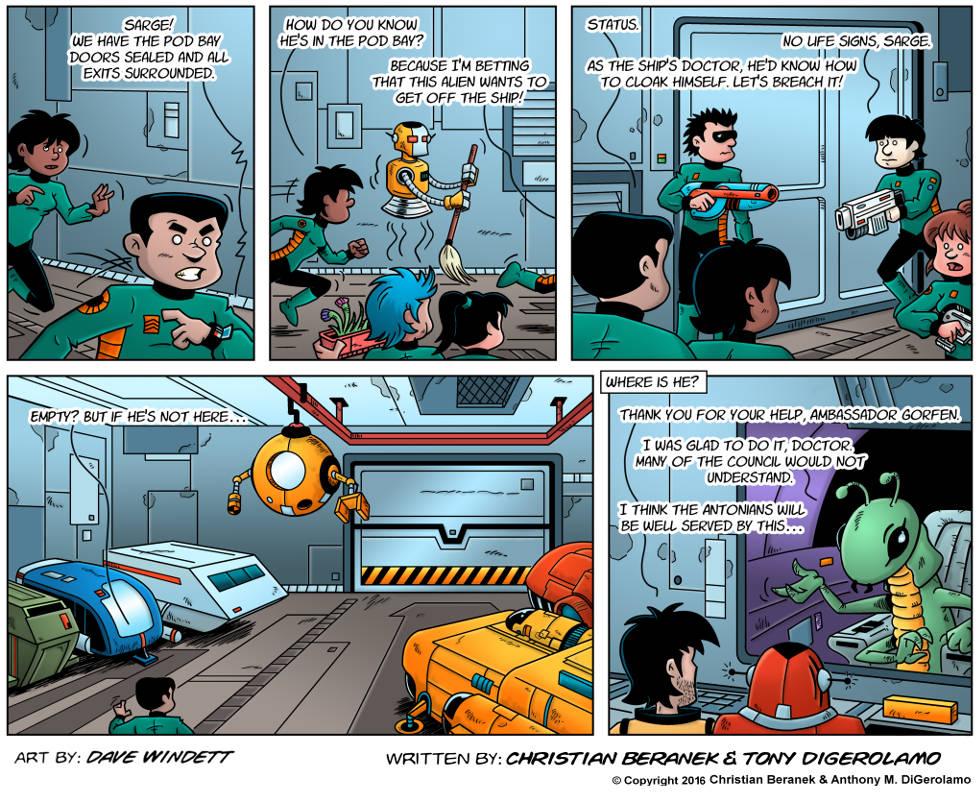 Intergalactic Medical Doctor:  Alien Gambit