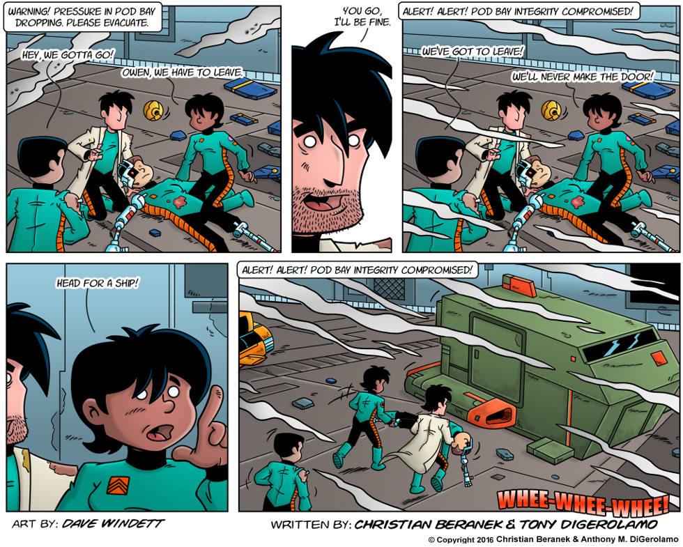 Intergalactic Medical Doctor:  Under Pressure