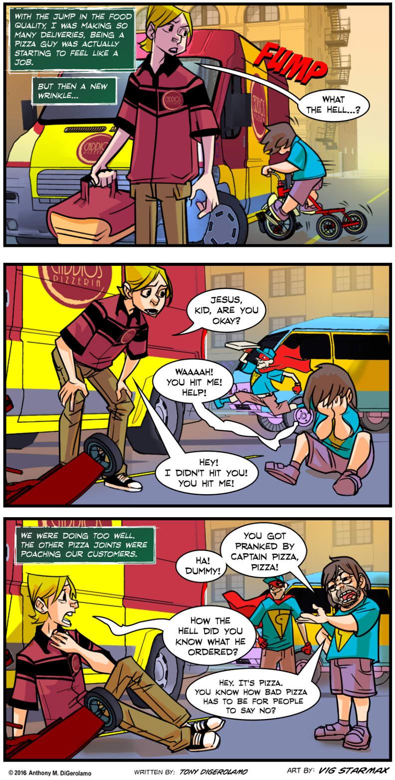 Tales of Pizza:  Pizza Poacher