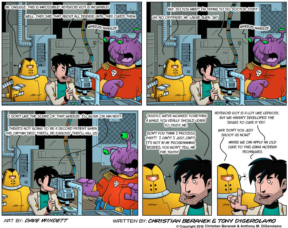 Intergalactic Medical Doctor:  Alien Wheeze