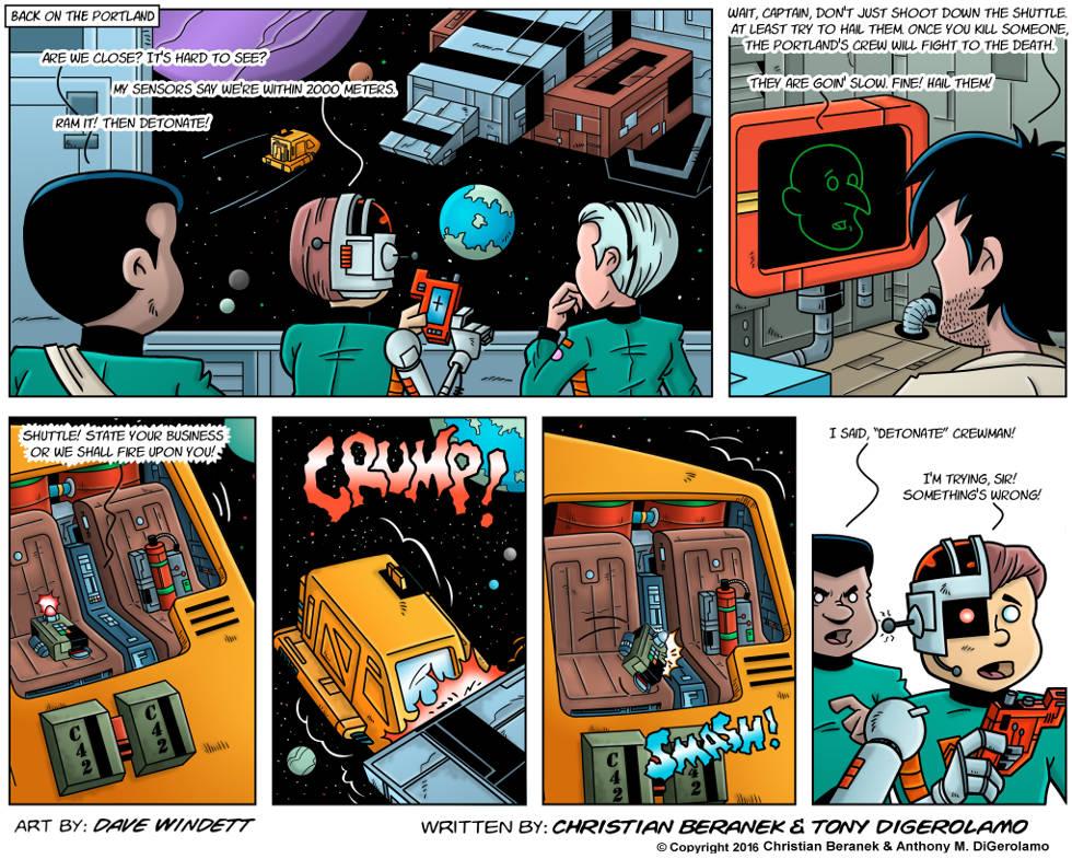 Intergalactic Medical Doctor:  The Shuttle Gambit